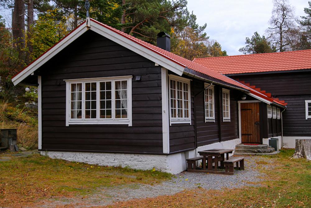 Brusdalsheimen - den gamle hytten